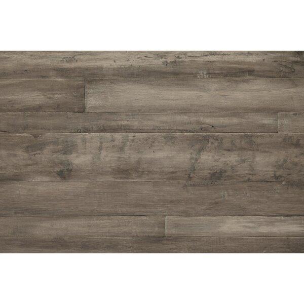 Antigua Random Width Engineered Shiranga Hardwood Flooring in Ash by Mannington