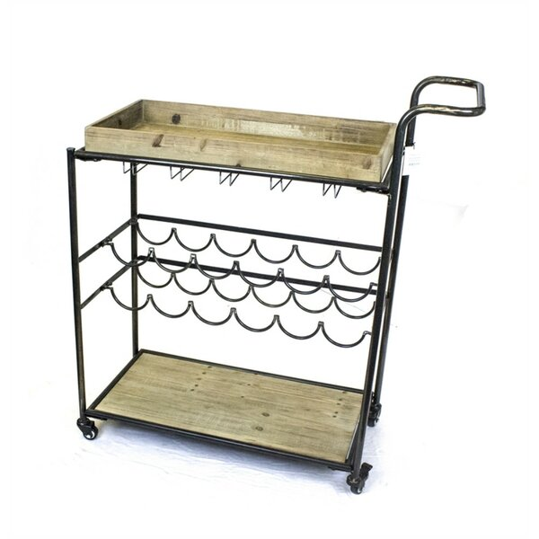 Boxborough Bar Cart by Gracie Oaks