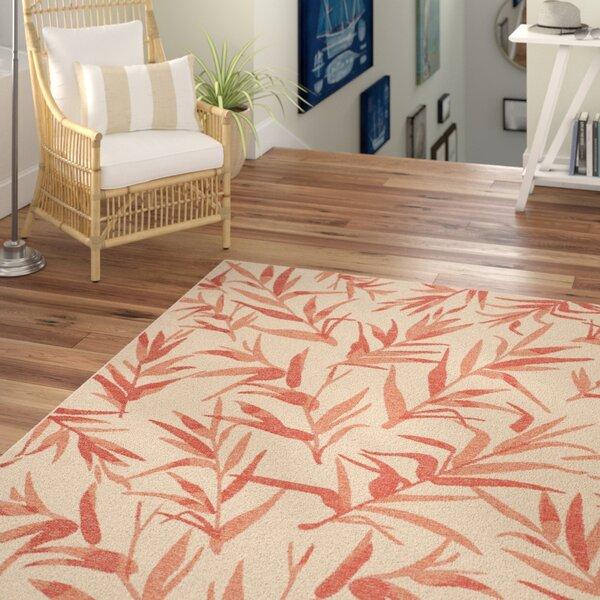 Higgs Beige/Terracotta Indoor/Outdoor Area Rug by Beachcrest Home