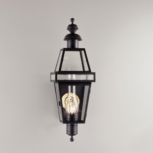 Great Price Galvez 1-Light Outdoor Flush Mount By Darby Home Co
