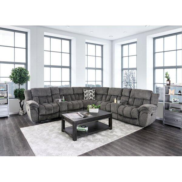 Buckman Reclining Sectional by Red Barrel Studio