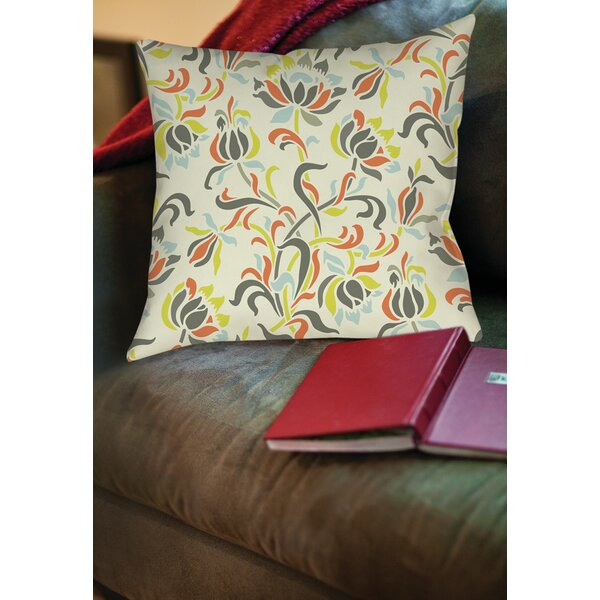 Napoli November 100 Printed Throw Pillow by Manual Woodworkers & Weavers