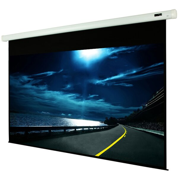 White Manual Projection Screen by Elunevision