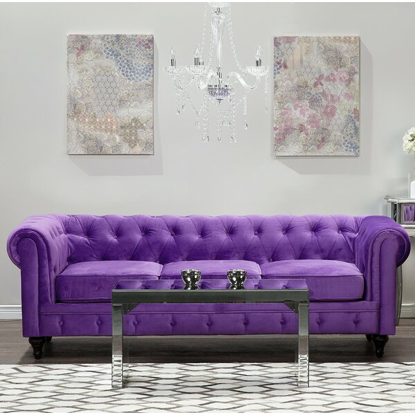 Bosley 3 Seater Chesterfield Sofa by House of Hampton
