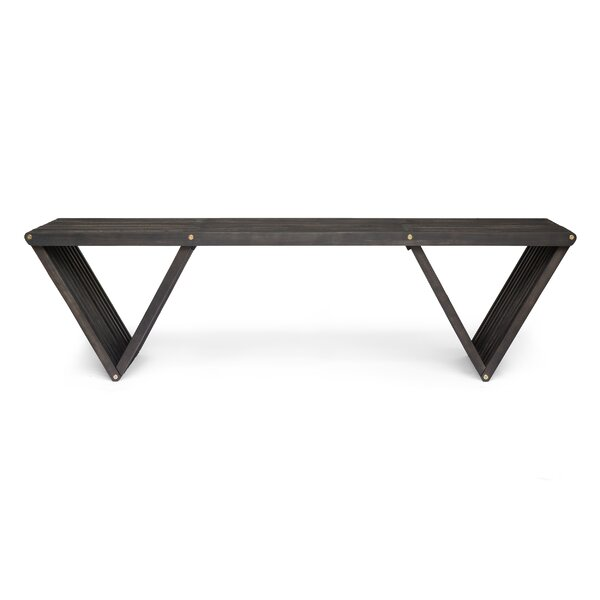 Ossu Wooden Picnic Bench by Union Rustic