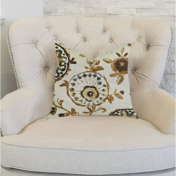 Reimers Floral Luxury Pillow by Bungalow Rose