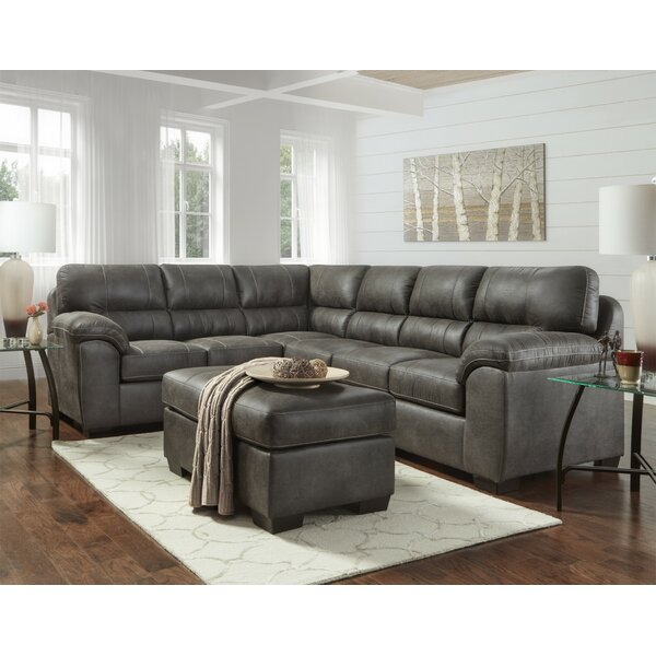 Zenya Sectional with Ottoman by Red Barrel Studio