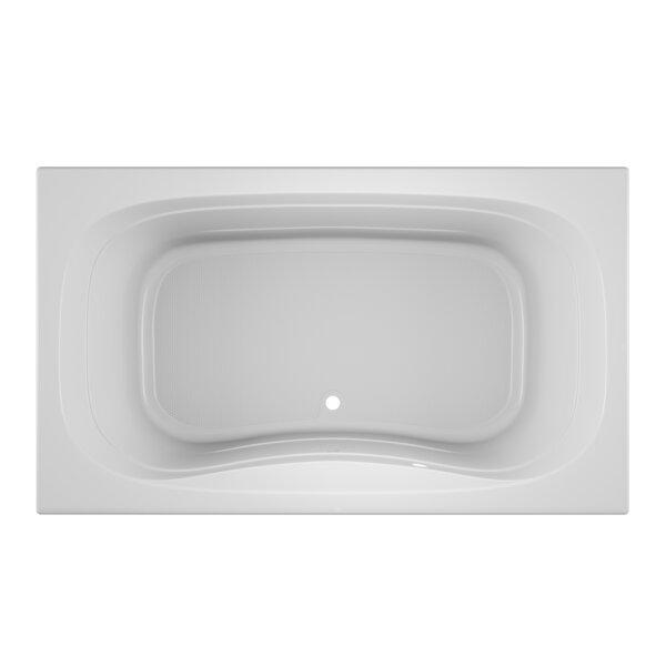 Signa Bath 72 L x 42 W Drop In Soaking Bathtub by Jacuzzi®