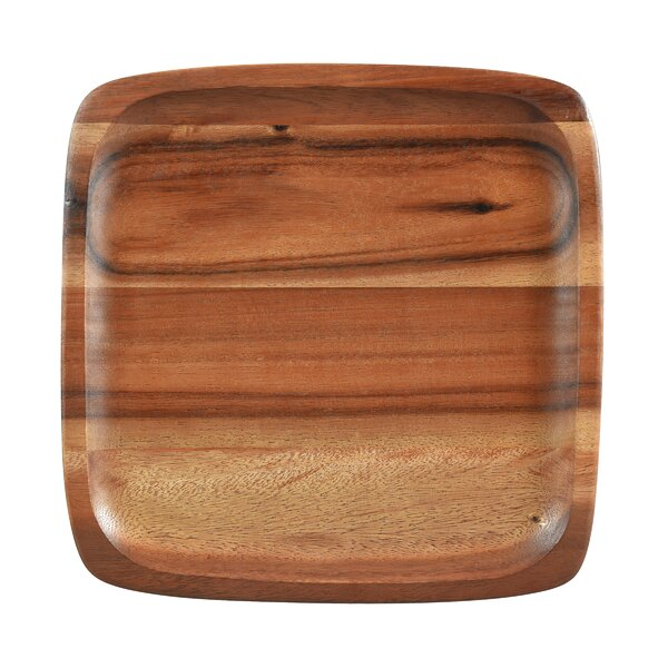 Kona Wood 12 Square Plate (Set of 4) by Noritake