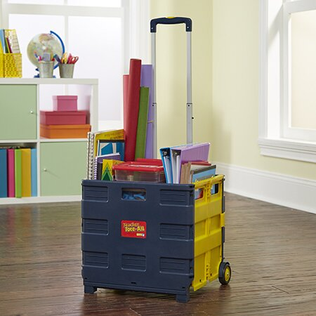 Folding Teaching Cart with Casters by Educational Insights