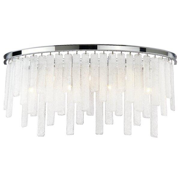Wanetta 7-Light Glass Bath Bar by Orren Ellis