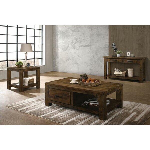 Zandra 3 Piece Coffee Table Set By Loon Peak
