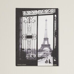 'Views of Paris' Photographic Print on Canvas by Trademark Fine Art