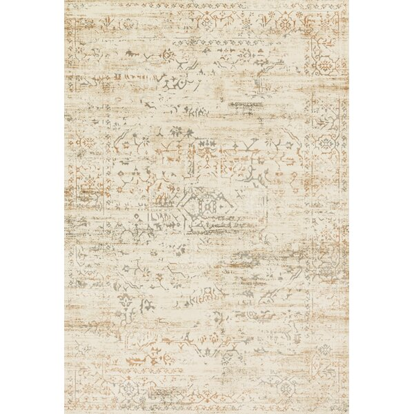 Abella Cream Area Rug by House of Hampton