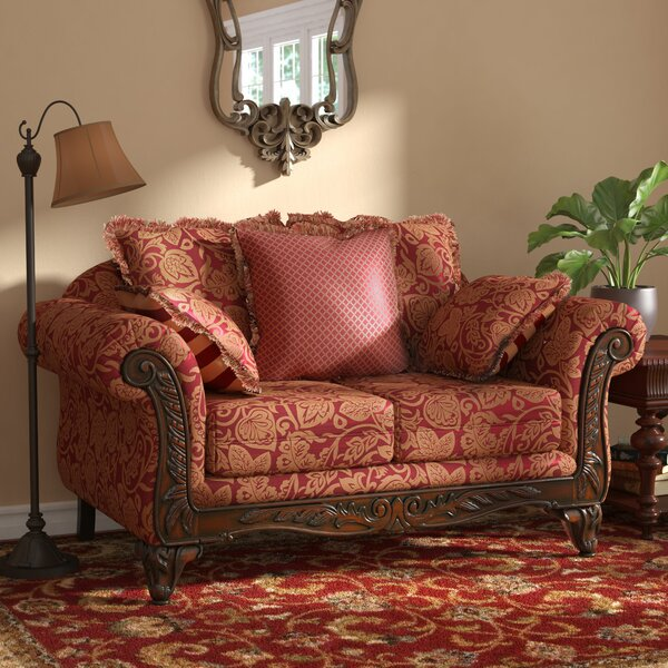 Valuable Price Powersville Standard Loveseat by Fleur De Lis Living by Fleur De Lis Living