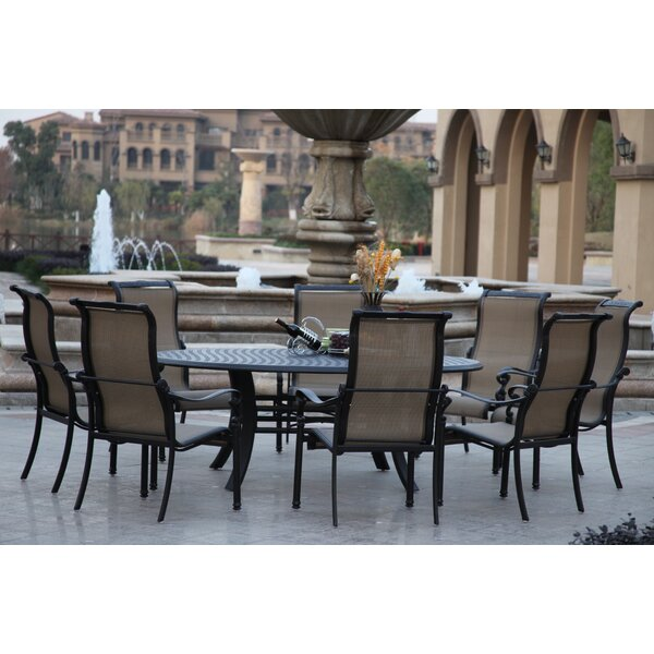 Bagwell 9 Piece Dining Set by Darby Home Co