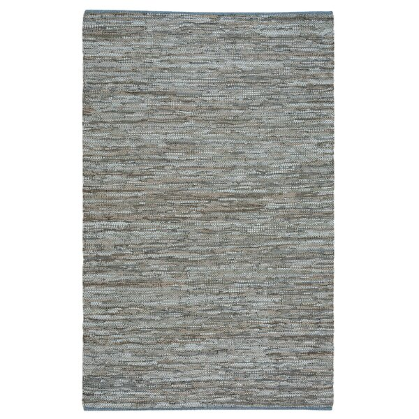 Kandi Flat Gray Area Rug by Highland Dunes