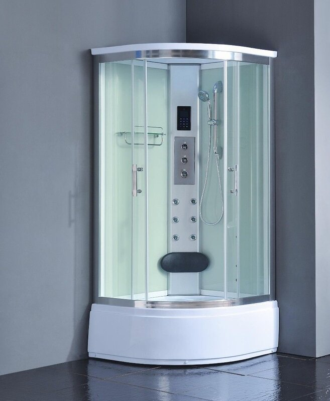 36 x 36 corner shower stall. 36  x 83 Corner Shower Enclosure Kokss Reviews Wayfair