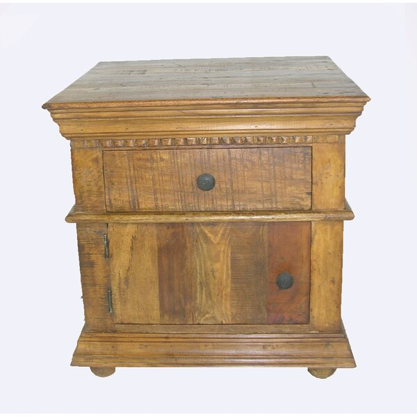 Sheehan End Table With Storage By Loon Peak