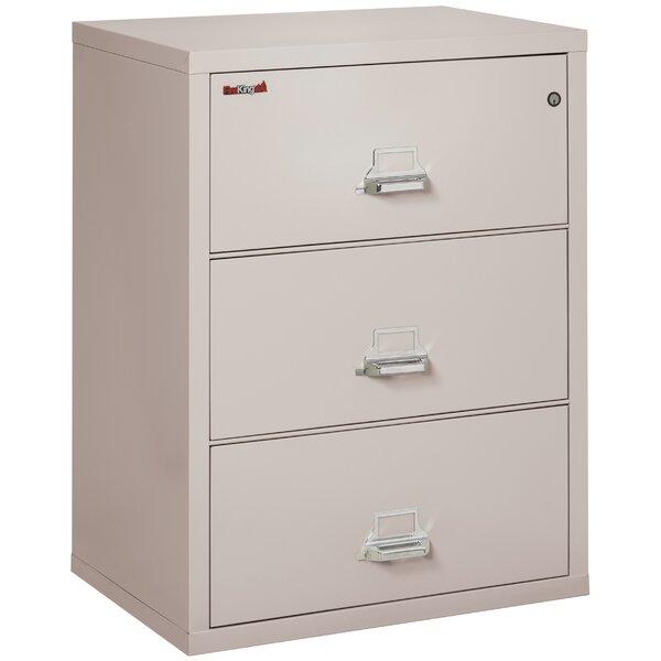 Fireproof 3-Drawer Vertical Filing Cabinet