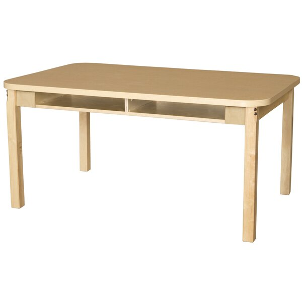 Manufactured Wood 25 Multi-Student Desk by Wood Designs