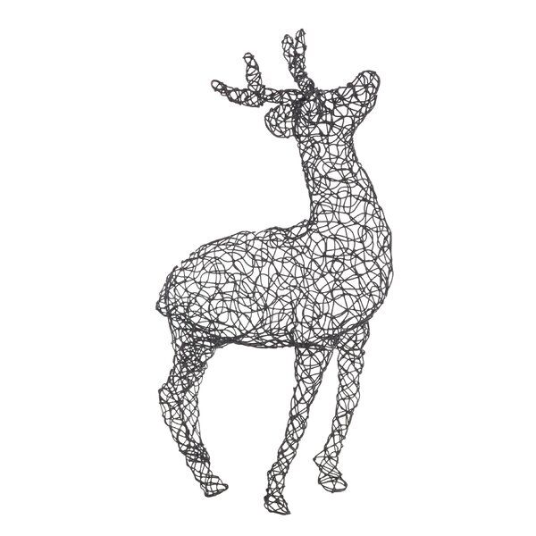 Peguero Metal Deer Buck Figurine by Loon Peak