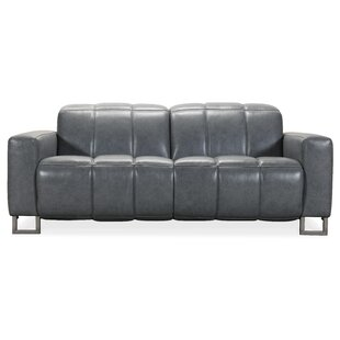 Giancarlo Leather Reclining Loveseat