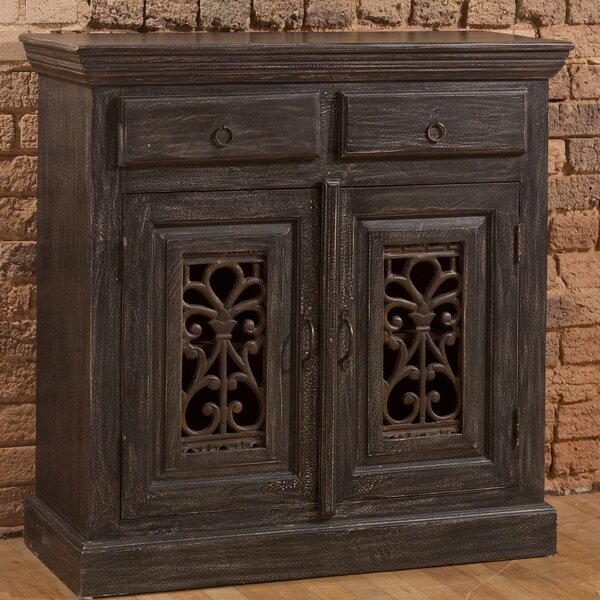 Motyka 2 Drawers And 2 Doors Accent Cabinet by Bungalow Rose