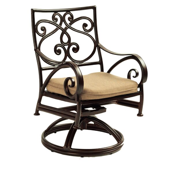 Lucerne Cast Swivel Rocking Chair by Leona