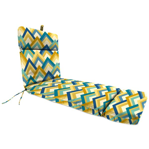 Indoor/Outdoor Chaise Lounge Cushion by Ivy Bronx