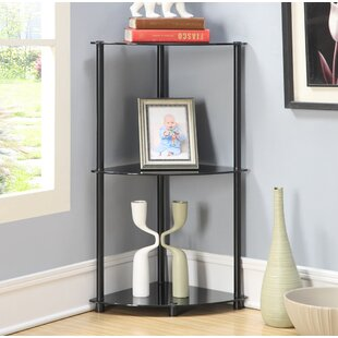 Beckett Corner Unit Bookcase Ebern Designs