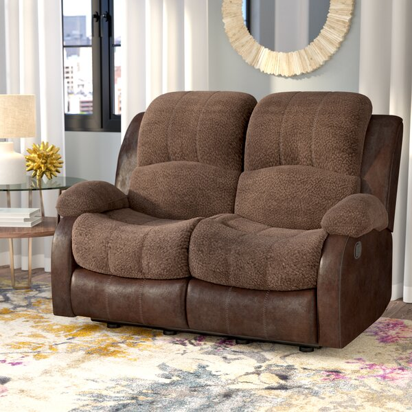 Get The Latest Welling Double Reclining Loveseat by Red Barrel Studio by Red Barrel Studio