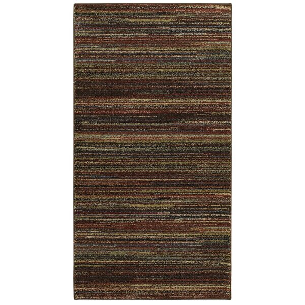 Spigner Brown Area Rug by Millwood Pines