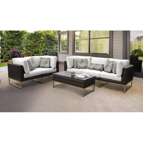 Mcclurg 6 Piece Multiple Chairs Seating Group with Cushions by Darby Home Co