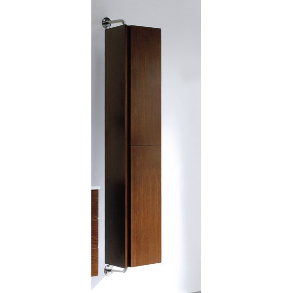 Caleb 13.5 W x 63 H Wall Mounted Cabinet by Adornus
