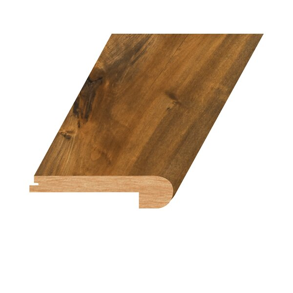 0.94 x 4.41 x 94.49 Oak Flush Stair Nose in Flores by Concept One Accessories