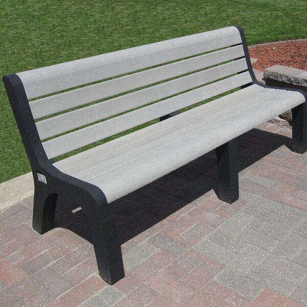 Sierra Plastic Park Bench by Freeport Park