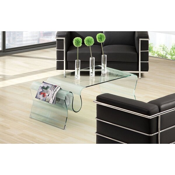 Sergent Glass Coffee Table by Orren Ellis