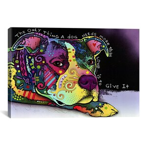 Affection by Dean Russo Graphic Art on Canvas by Latitude Run