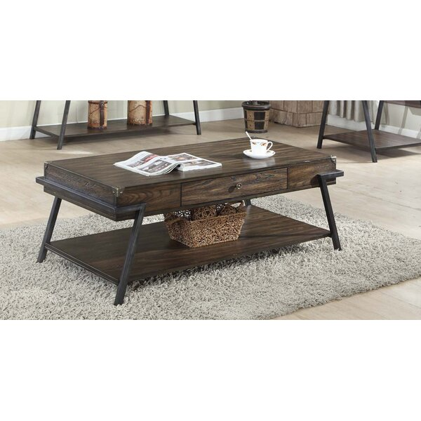 Burks Coffee Table by Williston Forge