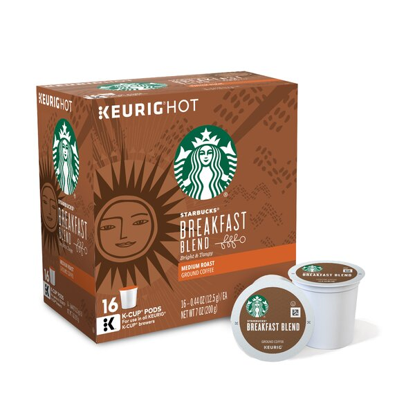 Starbucks Breakfast Blend Coffee  K-Cups (Pack of 96) by Keurig