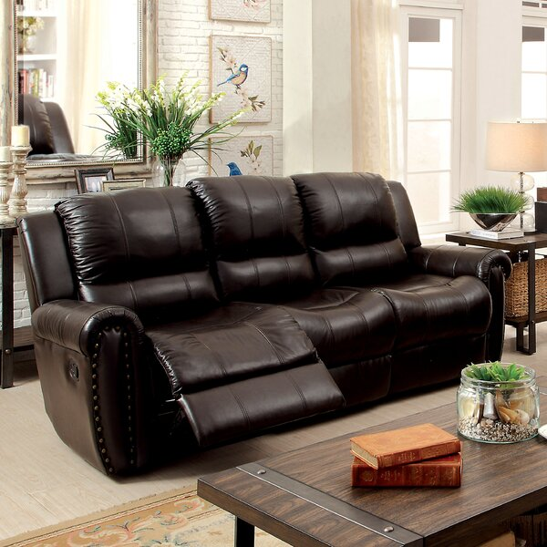 Vargas Transitonal Reclining Sofa by Darby Home Co