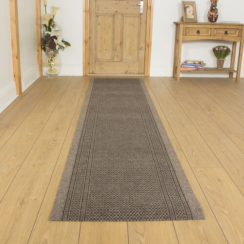 Acuff Flatweave Light Brown Rug Brambly Cottage Rug Size: