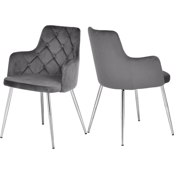 Zaina Upholstered Dining Chair (Set Of 2) By Mercer41