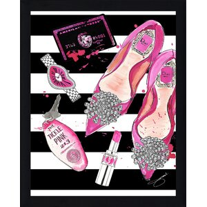 'Night at the Tickle Pink' Graphic Art Print by Picture Perfect International
