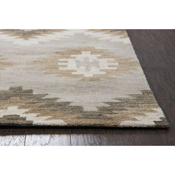 Brandon Hand Tufted Brown Area Rug by Birch Lane™