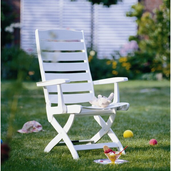 Caribic 16 Position Chair in White by Kettler USA