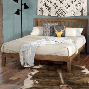 Read Reviews Moreno Valley Wood Platform Bed by Loon Peak