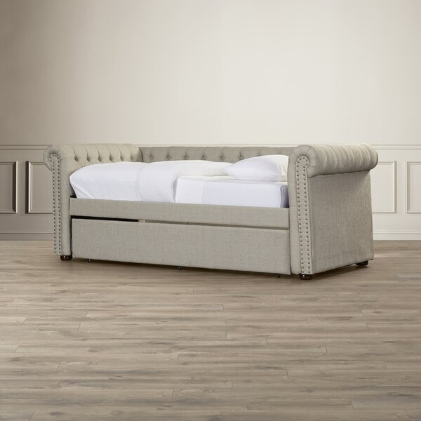 Shoreham-by-Sea Twin Daybed With Trundle By House Of Hampton