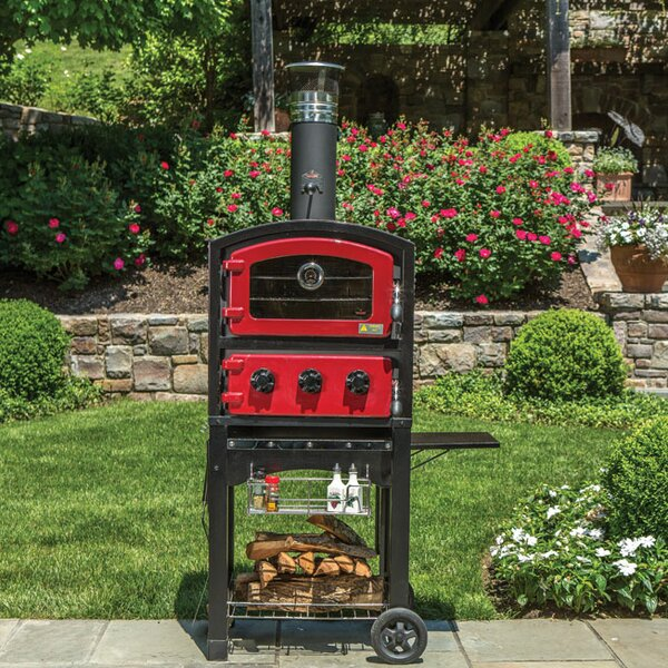 Wood Fired Oven and Smoker by Fornetto